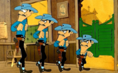 Lucky Luke: Balada o Daltonima (1978) sinhronizovani crtani online